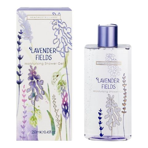 Lavender Fields Shower Gel 250ml Heathcote & Ivory